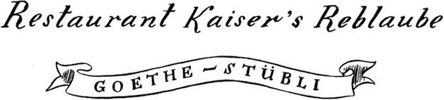 Restaurant Kaisers Reblaube